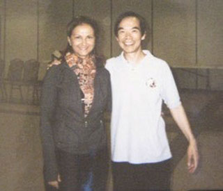 Dr. Lam and Jane Huyck