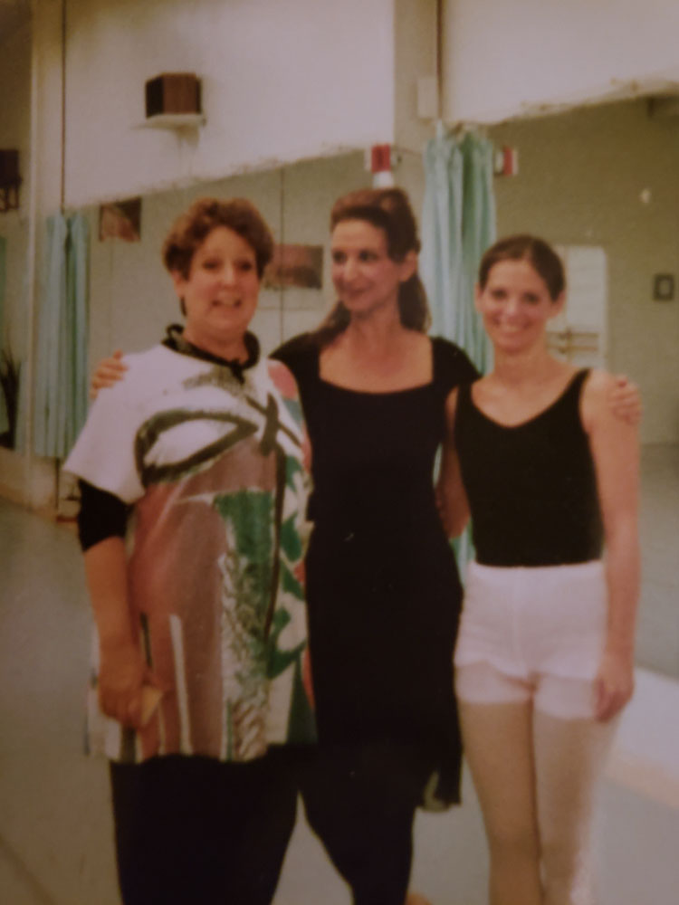 "As guest choreographer of Gershwin's ""Rumoresque"" for Leatherstocking Ballet Company. After rehearsal with a former teacher, and friend."